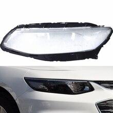 Araba far camı için Chevrolet Malibu XL 2016 2017 2018 far Lens araba far camı yedek otomatik kabuk kapak
