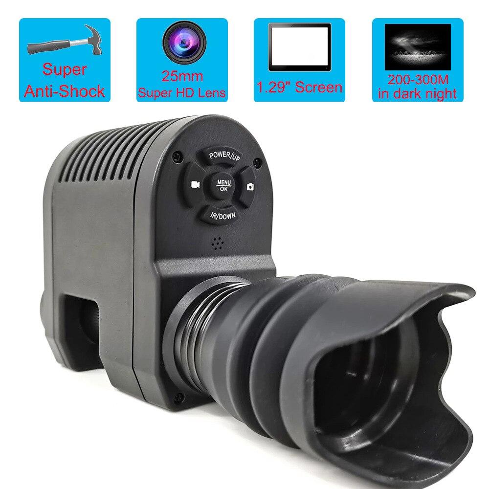 Megaorei 3 Night Vision Rifle Scope Video Record Photo Taking NV007 Hunting Optical Sight Camera 850nm Laser Infrared IR