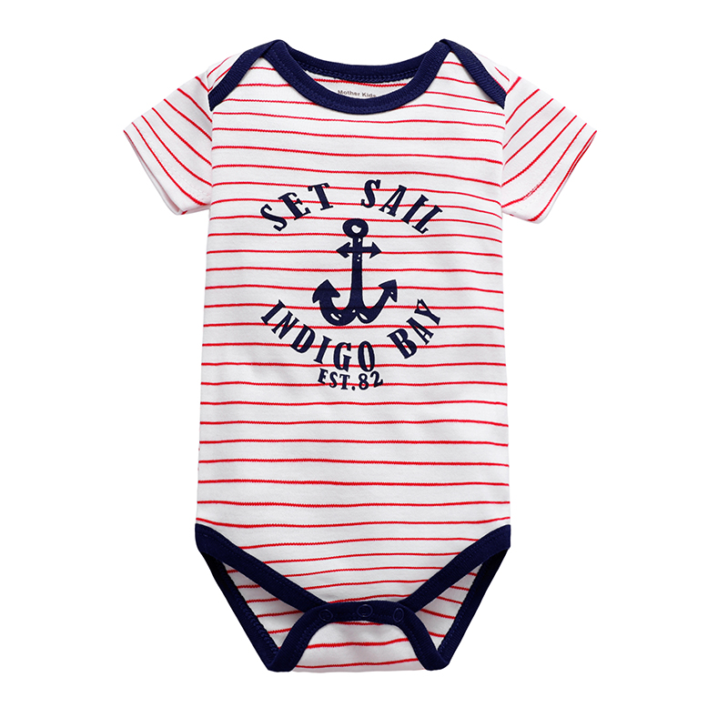Babies Boys Clothing Bodysuit Newborn Baby Girls Short Sleeve Body 3 6 9 12 18 24 Months Summer Clothes