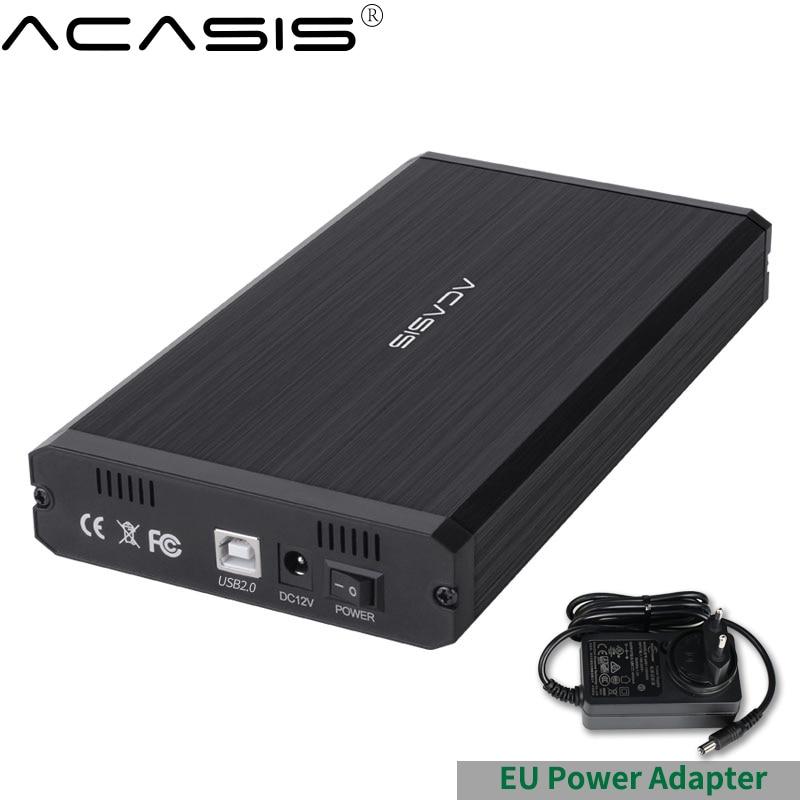 Чехол Acasis HDD USB 2,0 IDE к SATA 3,5 2,5 адаптер внешний корпус жесткого диска SSD диск коробка-чехол на HDD чехол HD