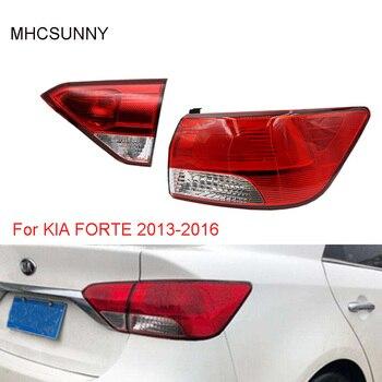 Inner/Outer Tail Light Lamp For KIA FORTE 2013-2016 Rear Brake Light Stop light taillight taillamp