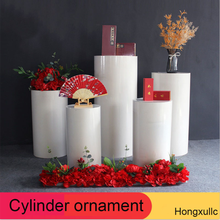 Decorations-Stand-Set Wedding-Props-Set Dessert Table Birthday-Party-Display Iron Cylindrical