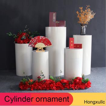 Iron Art Wedding Props Set Cylindrical Dessert Table Cylindrical Dessert Table Birthday Party Display Decorations Stand Set