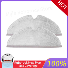 Original Xiaomi Roborock S5Max S50 S51 S55 S60 S6 Maxv vacuum cleaner robot accessories new cleaning cloth mop replacement parts