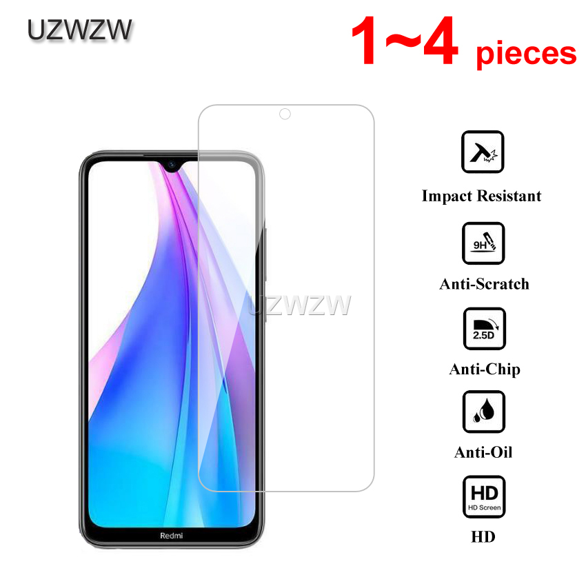 2.5D HD Tempered Glass For Xiaomi Redmi Note 8T Screen Protector Protective Glass For Xiaomi Redmi Note 8T Glass