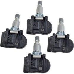 4 sztuk nowy czujnik tpms samochodu czujnik monitorowania ciśnienia w oponach 433Mhz dla Land Rover Citroen C4 C5 C6 C8 9681102280 FW931A159AB w Systemy monitorowania ciśnienia w oponach od Samochody i motocykle na