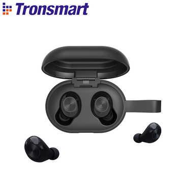 [Neueste Version] Tronsmart Spunky Beat TWS Bluetooth Kopfhörer QualcommChip Tech APTX Drahtlose Ohrhörer mit CVC 8,0