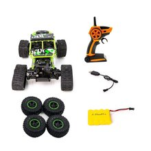 цена на Electric  Remote Control Car Toys For Kids 1 To 18 S-001 Four-wheel Drive Snowmobile Wheel Model Crawlers Off Road Vehicle Toy