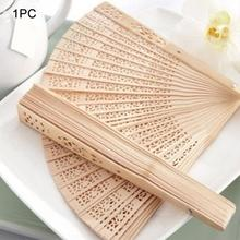 Chinese Japanese Folding Fan Original Wooden Hand Flower Bamboo Pocket for Home Decor Decoracion Fiestas