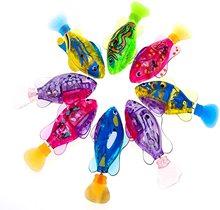 Детские игрушки для ванной для детей Плавание ming Робот Рыба с светодиодный светильник брызг воды Плавание бассейн электрическая игрушечна...