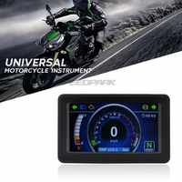 Motorcycle Universal 1,2,4 Cylinder tachometer rpm LCD led Display TFT signal Instrument Speedometer odometer speed motorcycle