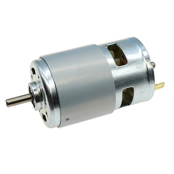 775 Motor DC 12V 10000RPM Motor Large Torque Gear Motor Double Ball Bearings High Speed Large Torque Tools for Polishing Machine 13mm 12v 13rpm high torque dc geared motor