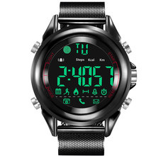 Men's Sport Smart Watch Brand Pedometer Remote Camera Calorie Bluetooth Smartwatch Reminder Digital Wristwatches for Ios Andriod(China)