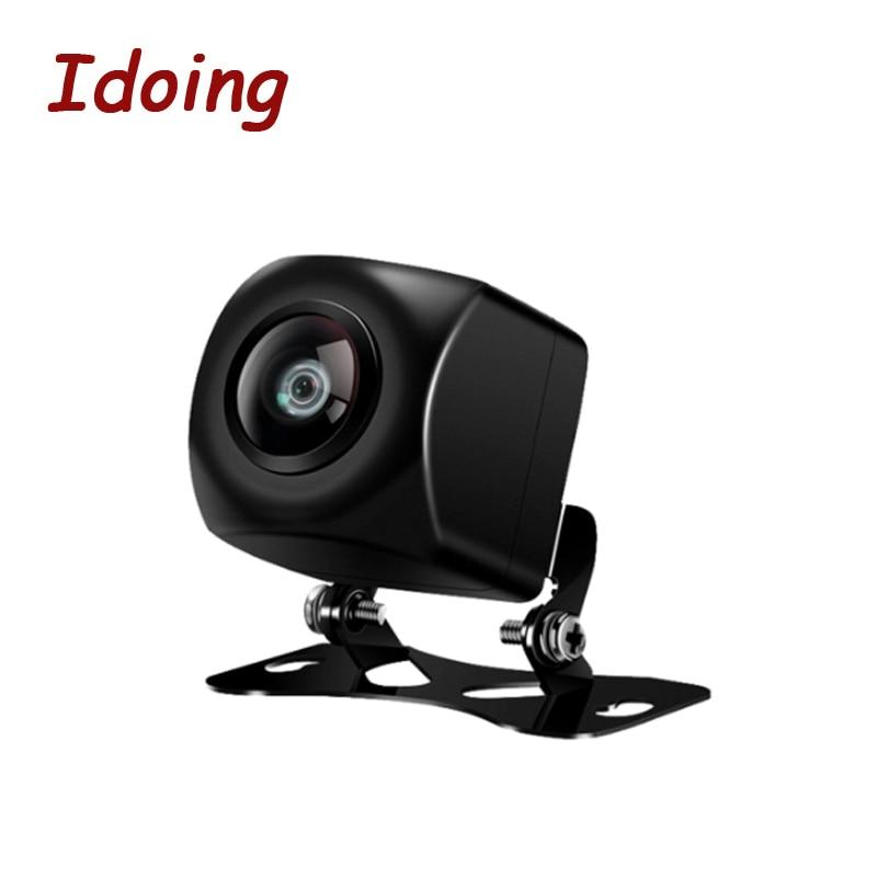 Камера заднего вида Idoing HD CCD Car170, камера заднего вида с углом обзора 170 градусов для Android 4,4/5,1/6,0/7,1/8,0
