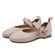 2019 Flower Girl Leather Shoes For School Autumn Party Big Kids Princess Wedding Children 3 4 5 6 7 8 9 10 11 12 Year Old