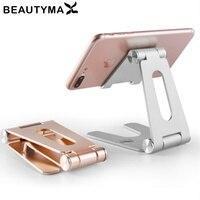 Telefoon Standhouder Voor Iphone 11 Se Voor Samsung S20 Opvouwbare Metalen Bureau Telefoon Houder Mobiele Telefoon Stand Voor Ipad mini Tablet
