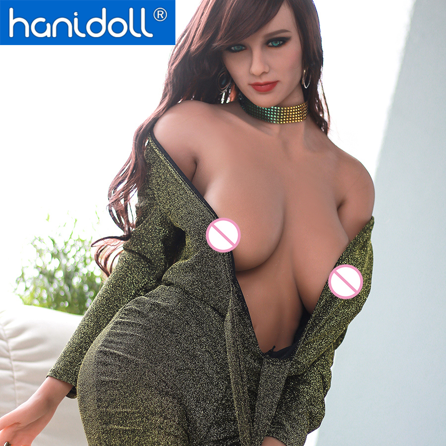 Hanidoll Silicone Sex Dolls Love Doll 171cm Realistic Ass Boobs Adult Real Doll TPE Sexy Male Sex Doll For Men Tan Skin