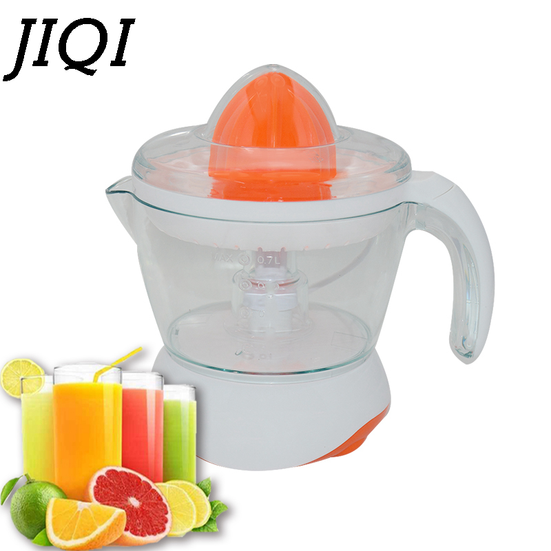 JIQI 220V Electric Juicer Oranges / Mandarins / Citrus / Lemon/ Grapefruit Juice Machine Orange Juicer EU