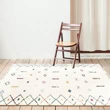 Nórdicos suave y esponjoso alfombras habitación casa Shaggy alfombra dormitorio sofá mesa de café alfombra hogar niños alfombra alfombras marroquíes