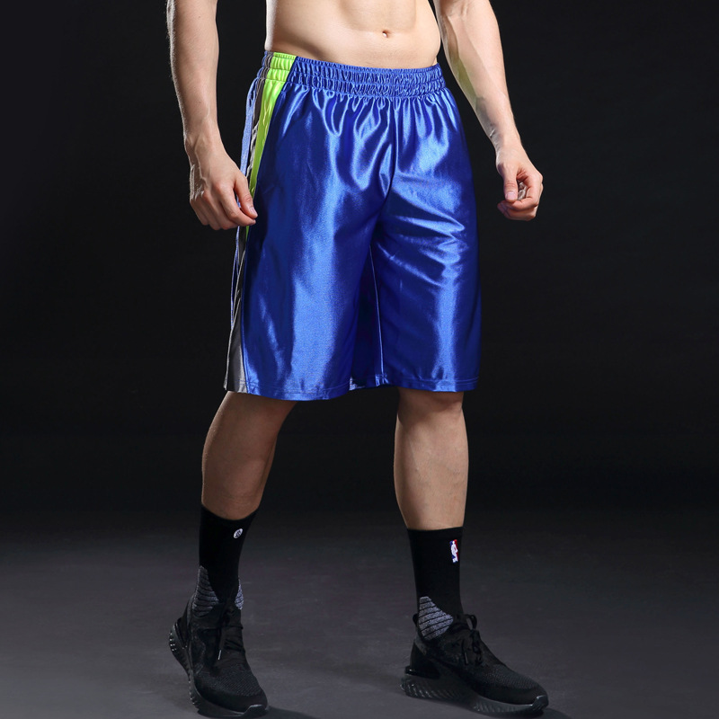 Spring And Summer New Style Men Handsome Fitness Moisture Wicking Kou Dai Kuan With Drawstring Basketball Shorts Ma55