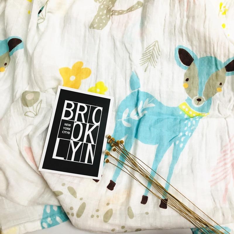 De 100% Cotton Baby Swaddle Muslin Blankets Muslin Diaper Newborn Blankets Ins Gauze Infant Wrap Sleepsack Swaddleme Bath Towel