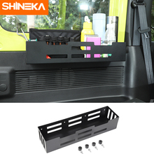 SHINEKA Stowing Tidying For Suzuki Jimny Car Trunk Side Door Storage Bracket Organizer Accessories For Suzuki Jimny 2019 2020