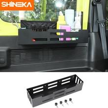 SHINEKA soporte de almacenamiento para puerta lateral de maletero de coche, accesorios organizadores para Suzuki Jimny 2019 2020