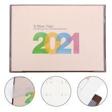 1 шт настольный календарь 2020 2021 записная книжка для бизнеса