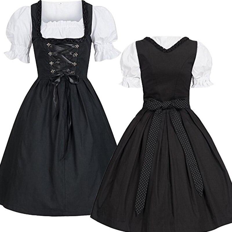Xxxxxl Xxxxl Plus Size Women's German Dirndl Dress Traditional Bavarian Beer Girl Oktoberfest Costumes For Halloween Carnival
