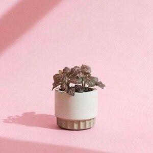 Image 2 - Cement flowerpot mold, flowerpot silicone mold Cement concrete mold