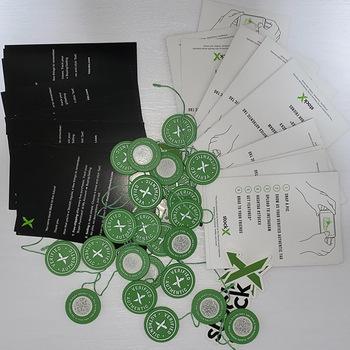 10 zestaw partia 2020 2021 StockX Tag zielony okrągły Tag Rcode naklejki ulotka plastikowa klamra do butów zweryfikowana X autentyczny Tag pokrowiec na buty tanie i dobre opinie nonglang CN (pochodzenie) Buty covers