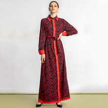 Wholesale European Maxi Dresses Women Tu