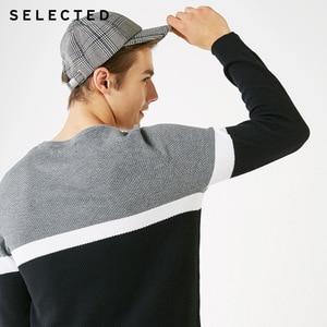 Image 4 - Отборные хлопковые пуловеры разных цветов с круглым вырезом и длинными рукавами, вязаный свитер S