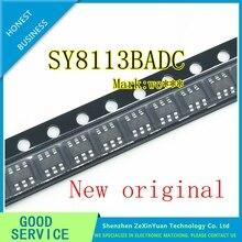 100 шт./лот 100% Новый оригинальный SY8113BADC SY8113B SY8113 (WC5ZI WC4FZ WC...) SOT23 6 в наличии