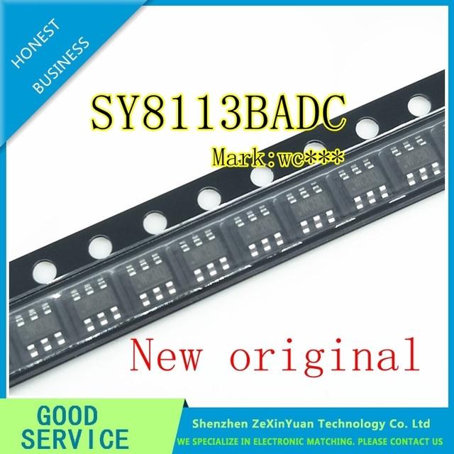 100PCS/LOT  100% New original SY8113BADC SY8113B SY8113 (WC5ZI WC4FZ WC...) SOT23 6  In Stock