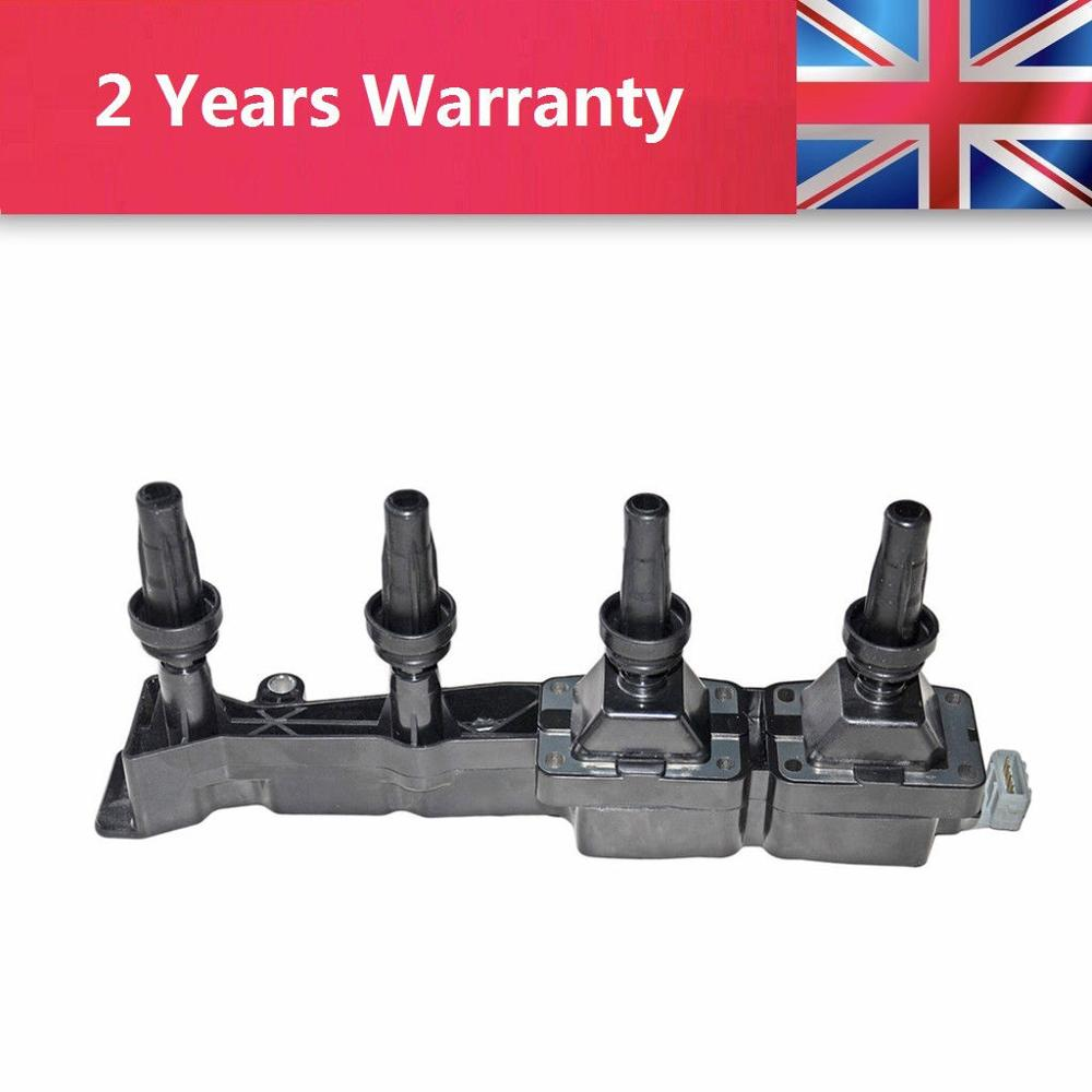 Set of 4 Ignition Coil on Plug For Citroen Berlingo C2 C3 C4 Xsara //Peugeot 206