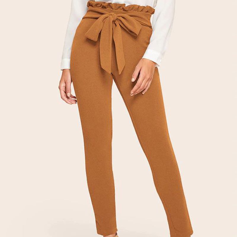 women's Nine-point Tight Pants Slim Trousers High Waist 19 Autumn And Winter Pencil Pant New Tights Plus Size Pants 8