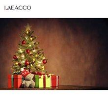 Рождественские фоны laeacco градиентные цветные стены фотофоны