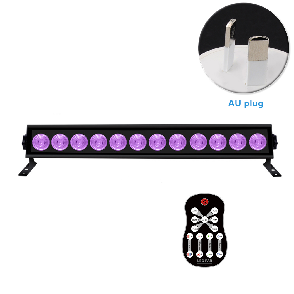 Bar Club Decorative Halloween KTV Hanging Ultraviolet Wall Lamp Party Bright DIY Stage Light Luminous Remote Control