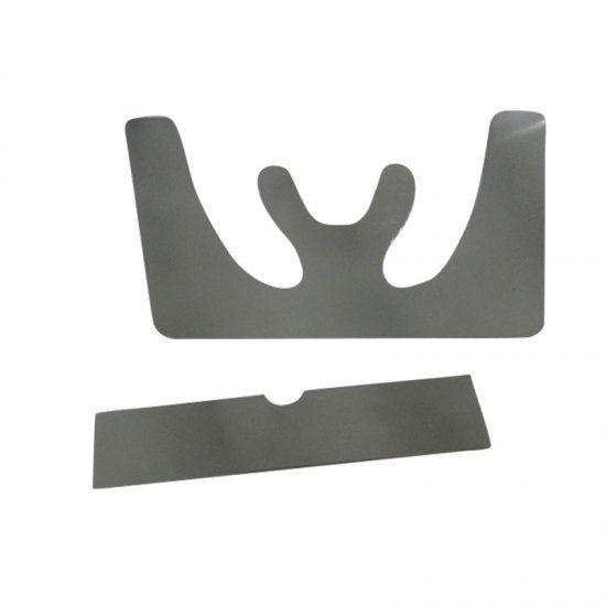 1 Set Autoclavable Dental Occlusal Maxillary Casting Jaw Fox Plane Dentist Tools