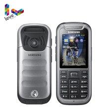Original samsung c3350 telefone desbloqueado samsung xcover 2 gsm 2.2 polegadas 2mp remodelado telefone móvel frete grátis
