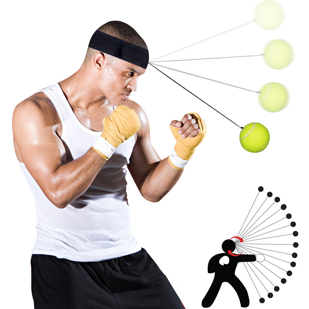 Reflex Boxing Trainer Punching Speed Traning Ball Fight Ball With Head Band Kids Toys Juguetes Brinquedos игрушки антистресс New