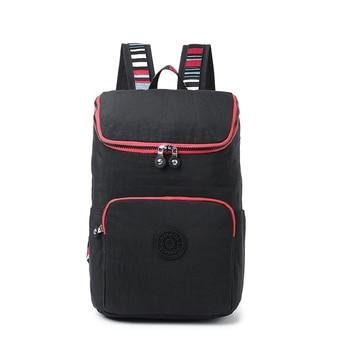 KEDANISON mochila de nylon impermeable bolso unisex para la escuela luz mochila