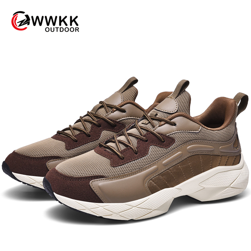 WWKK New Brand Designer Sport Running Shoes Lightweight Breathable Sneakers Autumn Male Outdoor Fashion Men Running Shoes Man