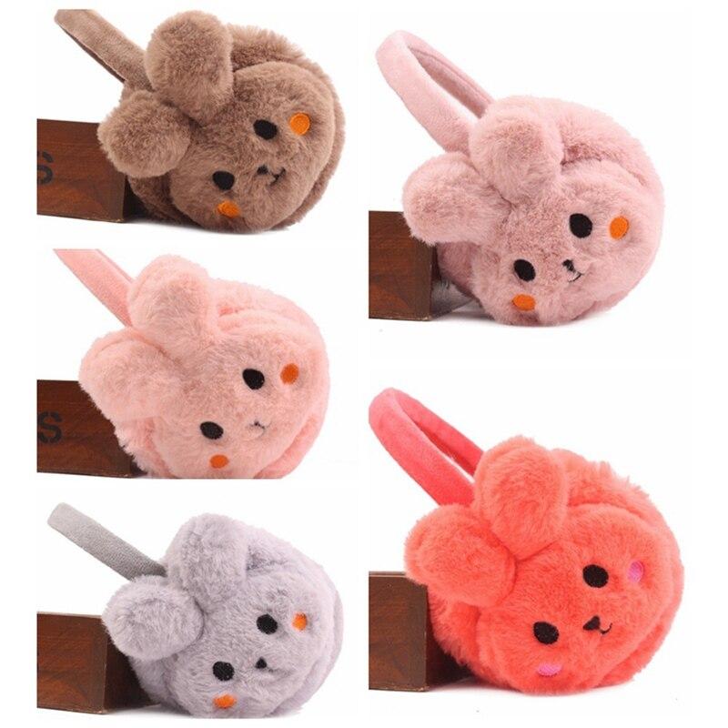 New Plush Warm Rabbit Earmuffs Cute Boys And Girls Winter Warm Earmuffs Children Cute Winter Earmuffs Earmuffs Ear Warmer