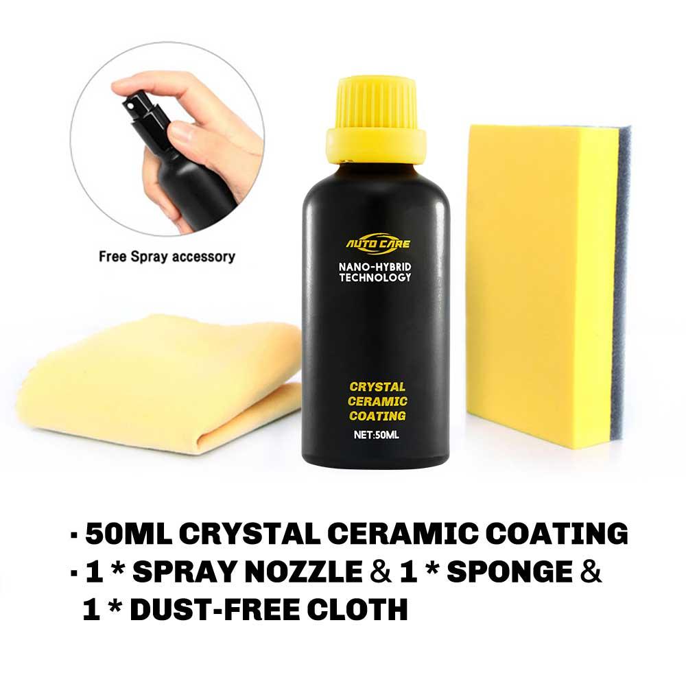 With cloth sponge
