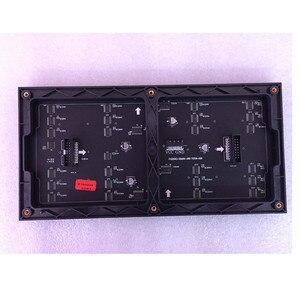 Image 1 - 64x32 LED matricielle signe rvb P4 led module vidéo mur P2.5 P3 P4 P5 P6 P8 P10 écran intérieur polychrome