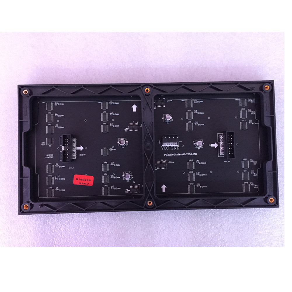 Señal LED matrix de 64x32, módulo led RGB P4, pared de vídeo P2.5 P3 P4 P5 P6 P8 P10, pantalla a todo color para interiores