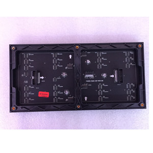 Image 1 - 64x32 matris LED işareti RGB P4 led modülü video duvar P2.5 P3 P4 P5 P6 P8 P10 kapalı ekran tam renkli ekran