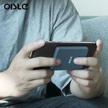 OISLE магнитный беспроводной портативный Встроенный аккумулятор 4225 мАч для iPhone12 mini Pro Max, внешний аккумулятор, ультра зарядное устройство Qi ...